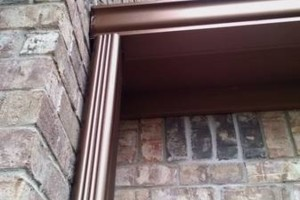 Photo #7: Seamless gutters -  $2.85 per ft