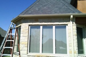 Photo #6: Seamless gutters -  $2.85 per ft