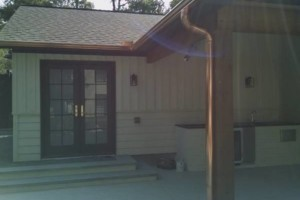 Photo #5: Seamless gutters -  $2.85 per ft