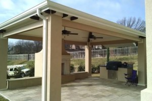 Photo #4: Seamless gutters -  $2.85 per ft
