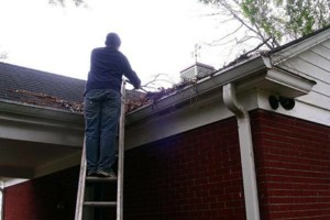 Photo #3: Seamless gutters -  $2.85 per ft