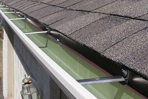 Photo #2: Seamless gutters -  $2.85 per ft