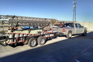 Photo #1: Seamless gutters -  $2.85 per ft