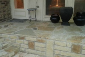 Photo #1: PauLauren Designs (stone & brick mason/ landscaping)