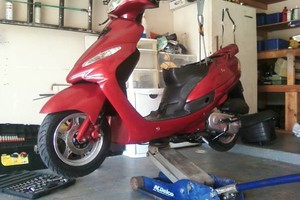 Photo #2: SCOOTER / MOPED REPAIR
