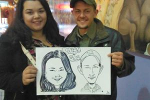 Photo #1: Caricature Artist for Hire