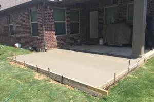 Photo #1: Entire METROPLEX Small Concrete Jobs