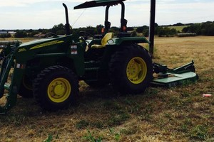 Photo #1: Jowell's Tractor Mowing - $45 per hour