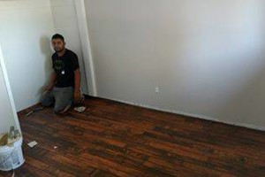 Photo #6: El Numeco. Carpet, hardwood, laminate, tile install...