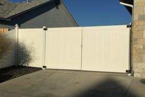 Photo #2: The Fence Doctor - Vinyl, Cedar, Chain Link Fence, Custom Walk Gates