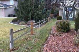 Photo #3: The Fence Doctor - Vinyl, Cedar, Chain Link Fence, Custom Walk Gates