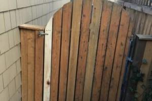 Photo #5: The Fence Doctor - Vinyl, Cedar, Chain Link Fence, Custom Walk Gates