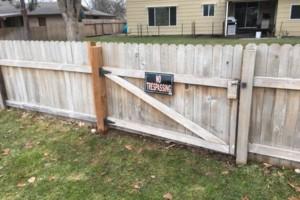 Photo #7: The Fence Doctor - Vinyl, Cedar, Chain Link Fence, Custom Walk Gates