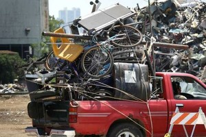 Photo #1: Help The Handicapped with Orie's Fast & Efficient Scrap & Junk Removal