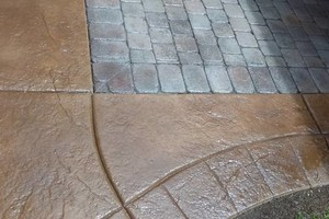 Photo #8: Concrete Dynamics - PATIOS, DRIVEWAYS, STAINING AND MORE