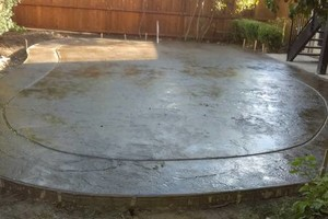 Photo #7: Concrete Dynamics - PATIOS, DRIVEWAYS, STAINING AND MORE