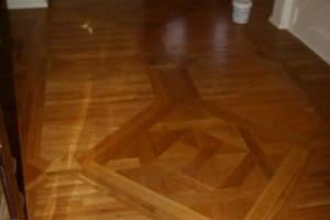 Photo #1: Lazarus Wood Floor Restoration