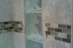 Photo #9: Tuscany Tile custom shower installs. 20+yrs!
