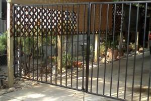 Photo #7: PREMIER FENCING CO. - wood, vinyl, wrought iron, chain link, split rail