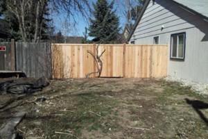 Photo #13: PREMIER FENCING CO. - wood, vinyl, wrought iron, chain link, split rail