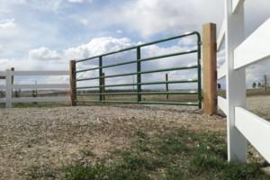 Photo #15: PREMIER FENCING CO. - wood, vinyl, wrought iron, chain link, split rail