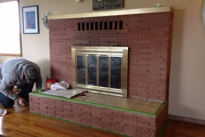 Photo #8: TUCKPOINTING, CHIMNEY REPAIR, BRICKLAYING