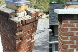 Photo #14: TUCKPOINTING, CHIMNEY REPAIR, BRICKLAYING