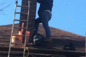 Photo #20: TUCKPOINTING, CHIMNEY REPAIR, BRICKLAYING