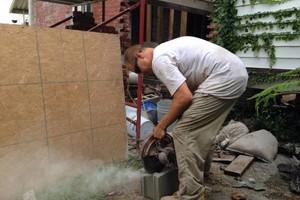 Photo #11: Tuckpointing, Brick, and Masonry Company