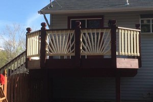 Photo #13: CUST0M Kitchens Remodel / Fence & Decks / Roof / Painting...