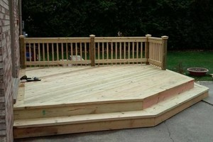 Photo #14: CUST0M Kitchens Remodel / Fence & Decks / Roof / Painting...