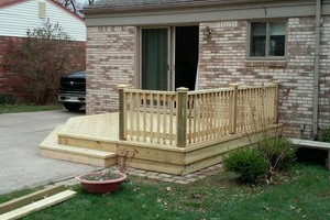 Photo #15: CUST0M Kitchens Remodel / Fence & Decks / Roof / Painting...