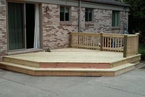 Photo #16: CUST0M Kitchens Remodel / Fence & Decks / Roof / Painting...