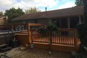 Photo #20: CUST0M Kitchens Remodel / Fence & Decks / Roof / Painting...