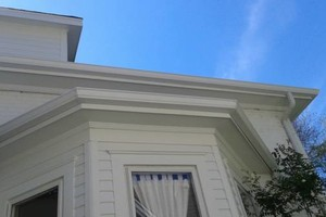 Photo #1: Seamless Gutters 5 & 6 Full insured!!!