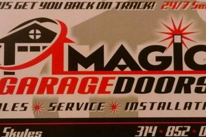 Photo #1: Magic Garage door StL. Garagedoor Repair You'll Love -24 hour service