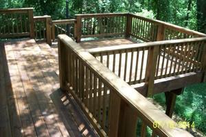 Photo #5: MARK HICKS. Privacy Fences / Custom Decks and More