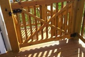 Photo #4: MARK HICKS. Privacy Fences / Custom Decks and More