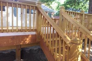 Photo #11: MARK HICKS. Privacy Fences / Custom Decks and More