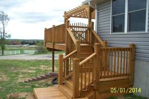 Photo #1: MARK HICKS. Privacy Fences / Custom Decks and More