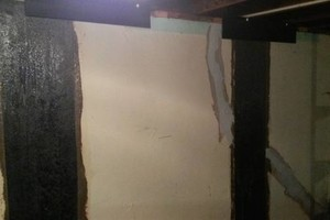 Photo #1: The Crack Medic. Basement Crack Repair & Carbon Fiber Wall Stabilization