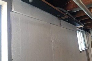 Photo #7: The Crack Medic. Basement Crack Repair & Carbon Fiber Wall Stabilization