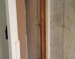 Photo #12: The Crack Medic. Basement Crack Repair & Carbon Fiber Wall Stabilization