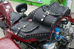 Photo #1: Custom Motorcycle Seats and Saddle Bags