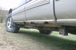 Photo #3: Cab Corners & Rocker panels REPAIRED