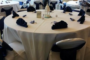 Photo #1: $1.50 for wedding chair covers & sashes!? WOW!