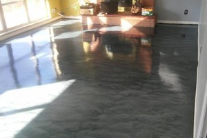 Photo #4: Central Epoxy Flooring. Beautiful flooring for your needs