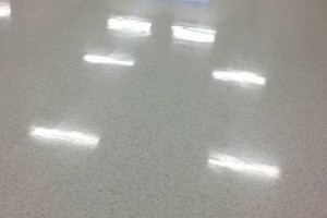 Photo #4: Floor Refinishing Stripping & Waxing Vinyl Flooring
