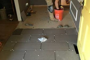 Photo #3: Bajric Home Improvement. Tile, Floor Work and More!
