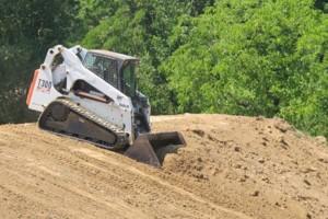 Photo #2: BOBCAT Skid Steer Grading Service